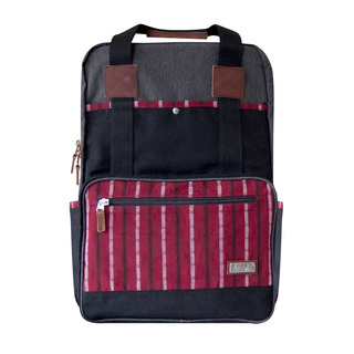 JOVEN BACKPACK - BLACK AND RED