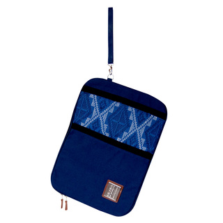 "13"" LAPTOP SLEEVE - BLUE BUNGA SAMA"