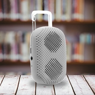 MϋV Mini Carabiner Bluetooth Speaker - Gray