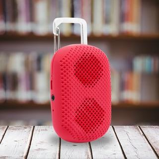 MϋV Mini Carabiner Bluetooth Speaker - Red