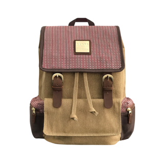 NEW ALUMNO KNAPSACK - RED RAMIT