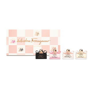 SALVATORE FERRAGAMO SIGNORINA MINIATURE TRAVEL KIT 4X5ML