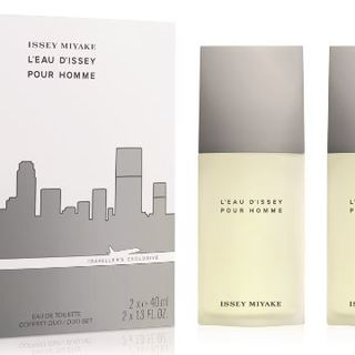 ISSEY MIYAKE L'EAU D'ISSEY POUR HOMME EDT DUO SET 2X40ML
