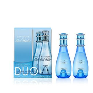 DAVIDOFF COOL WATER WOMEN EDT DUO 2X30ML