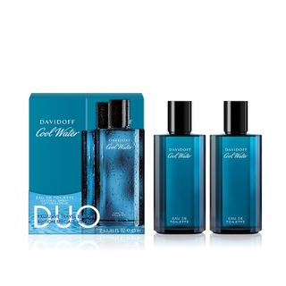 DAVIDOFF COOL WATER EDT DUO 2X40ML