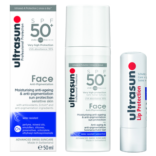 ULTRASUN FACE SET - FACE ANTI-PIGMENTATION & LIP PROTECTION SPF30