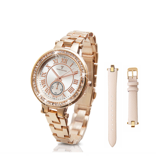 TEMPTATION WATCH WITH BRACELET AND STRAP