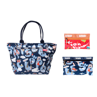 LESPORTSAC THE LE JOURNEY EVERYGIRL TOTE (3 PIECES)