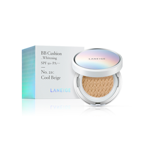 LANEIGE BB CUSHION_WHITENING SPF50 & PA & NO. 21 BEIGE (2X15G)