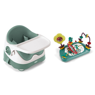Baby Bud Soft Teal with Activity Tray
