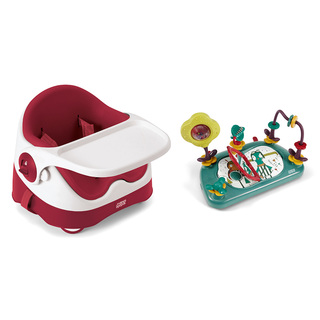 Baby Bud -  Soft Red with Activity Tray