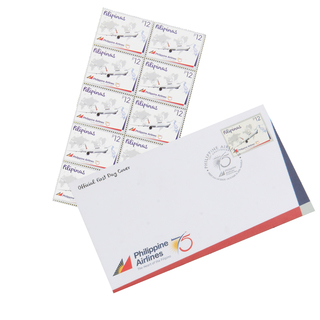 PAL Exclusives Commemorative Stamp 10's and Envelopes