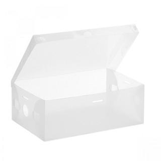 Transparent Shoe Box 33 x 20.5 x 12.5 cm - White