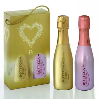 BOTTEGA SPARKLING WINE SET- ROSE & GOLD