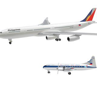 PAL CONVAIR & A340 AIRCRAFT