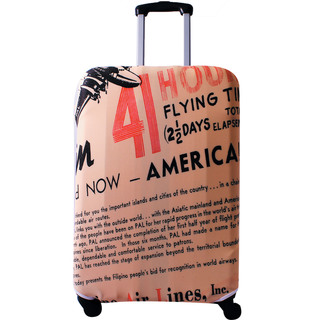 PAL Vintage Luggage Cover