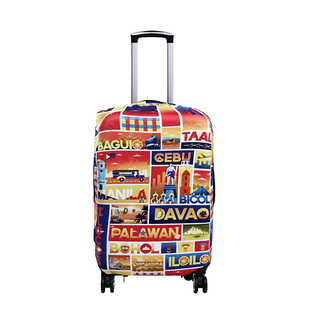 Across the Towns Reversible Luggage Cover