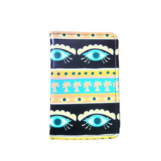 Neon Eyes Passport Holder
