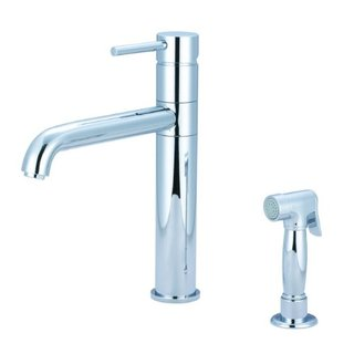 Pioneer Faucets Motegi Collection 2MT161H-BN Single Handle Kitchen Faucet, PVD Brushed Nickel