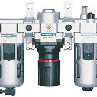 Filter regulator lubricator Modular with wall mounting bracket