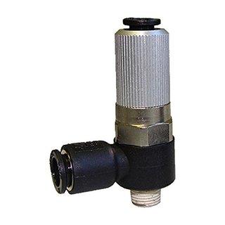 Vacuforce VMB05601 Manifold Vacuum Venturi with an External Exhaust, 0.5 mm/6 mm to R1/8 Port
