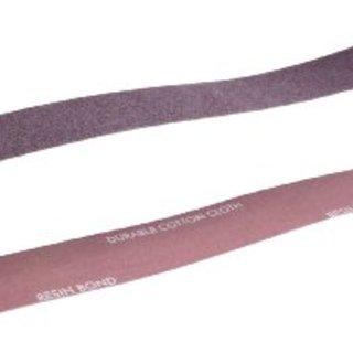 "Norton Metalite R228 Benchstand Abrasive Belt, Cotton Backing, Aluminum Oxide, 2-1/2"" Width, 60"" Length, Grit 50 (Pack of 10)"