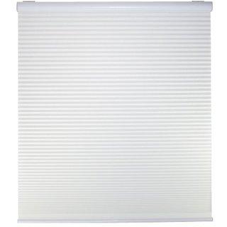 Cordless Light Filter Cellular Shade,   White,  54W x 48L