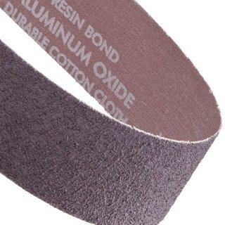 "Norton Metalite R228 Benchstand Abrasive Belt, Cotton Backing, Aluminum Oxide, 2-1/2"" Width, 60"" Length, Grit 36  (Pack of 5)"