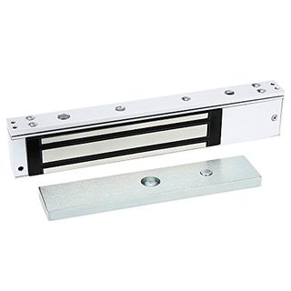 YueYueZou Single Door Magnetic Lock 600 lbs Holding Force for Access Control, Heavy Duty Door Bolt
