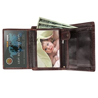 WAGOLO Best Genuine Leather Wallets for Men