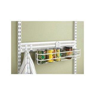 Organized Living freedomRail Spanner for freedomRail Closet System, 24-inch - Nickel