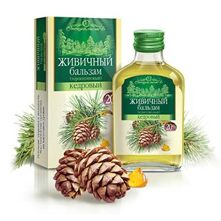 Extra Virgin Siberian Cedar Pine Nut Oil Enriched With 20% Cedar Resin 100ml