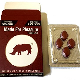 New Rhino Black Made For Pleasure Tablet Instant Men Enhancement (1)