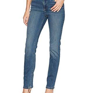 Lee Women's Missy Perfect Fit Straight Leg Jean, True Casanova, 14