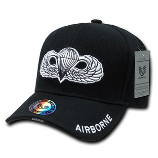 Rapiddominance Airborne The Legend Military Cap, Black