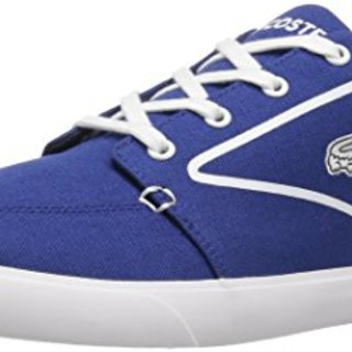 Lacoste Men's Bayliss Vulc 317 3, Dark Blue/White, 8 M US