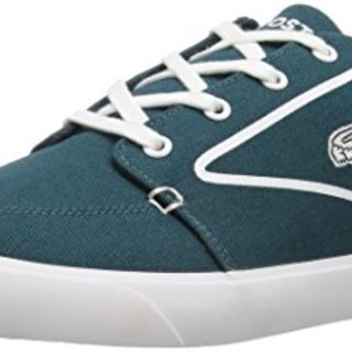 Lacoste Men's Bayliss Vulc 317 3, Dark Green/White, 10.5 M US