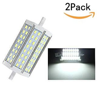 CTKcom R7S 12W LED Bulbs(2 Pack) - J118mm Double Ended R7S SMD 5730 LED Halogen Lamp Cool White 6000K,Energy-Saving R7S Flood Lights Quartz Tube Lamps 100W Replacement Halogen Bulb,AC85V-265V,2 Pack