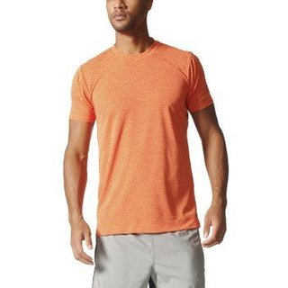 Adidas Mens Training Freelift Climachill Tee, Chill Solar Gold/Energy, Medium
