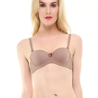 MONA LISA PADDED BRA BROWN (1296)