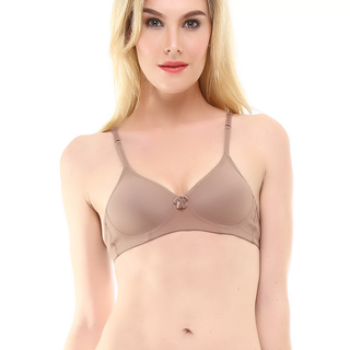 MONA LISA PADDED BRA BROWN (1309)