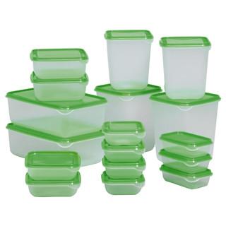 Ikea - Pruta Foodsaver 17piece set - (Green) by Below SRP