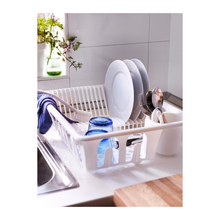 Ikea Flundra Dish Drainer (White)