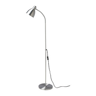 Ikea Lersta Adjustable Floor Lamp (Silver)