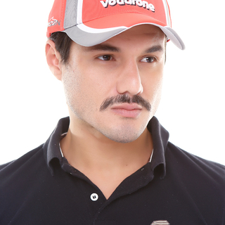 Vodafone Racing Cap (Red Orange)