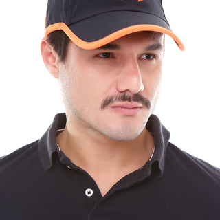 Underarmour Sports Cap (Black/Orange)