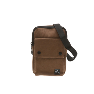 MY BY MCJIM IMPORTED CANVAS SLING BAG BGF22-SCV-02 (BROWN)