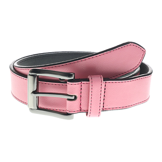 MJ BY MCJIM LADIES LEATHER BELT MJ-18695-C (BABY PINK)