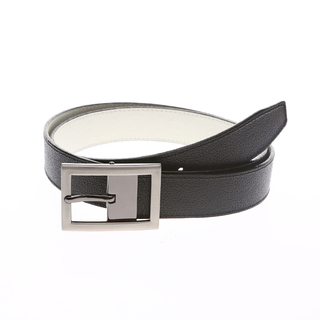 MJ BY MCJIM REVERSIBLE BELT MJ-133/6-789-30 (BLACK/WHITE)