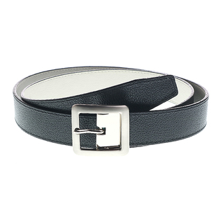 MJ BY MCJIM REVERSIBLE BELT MJ-133/6-16809/30 (BLACK/WHITE)